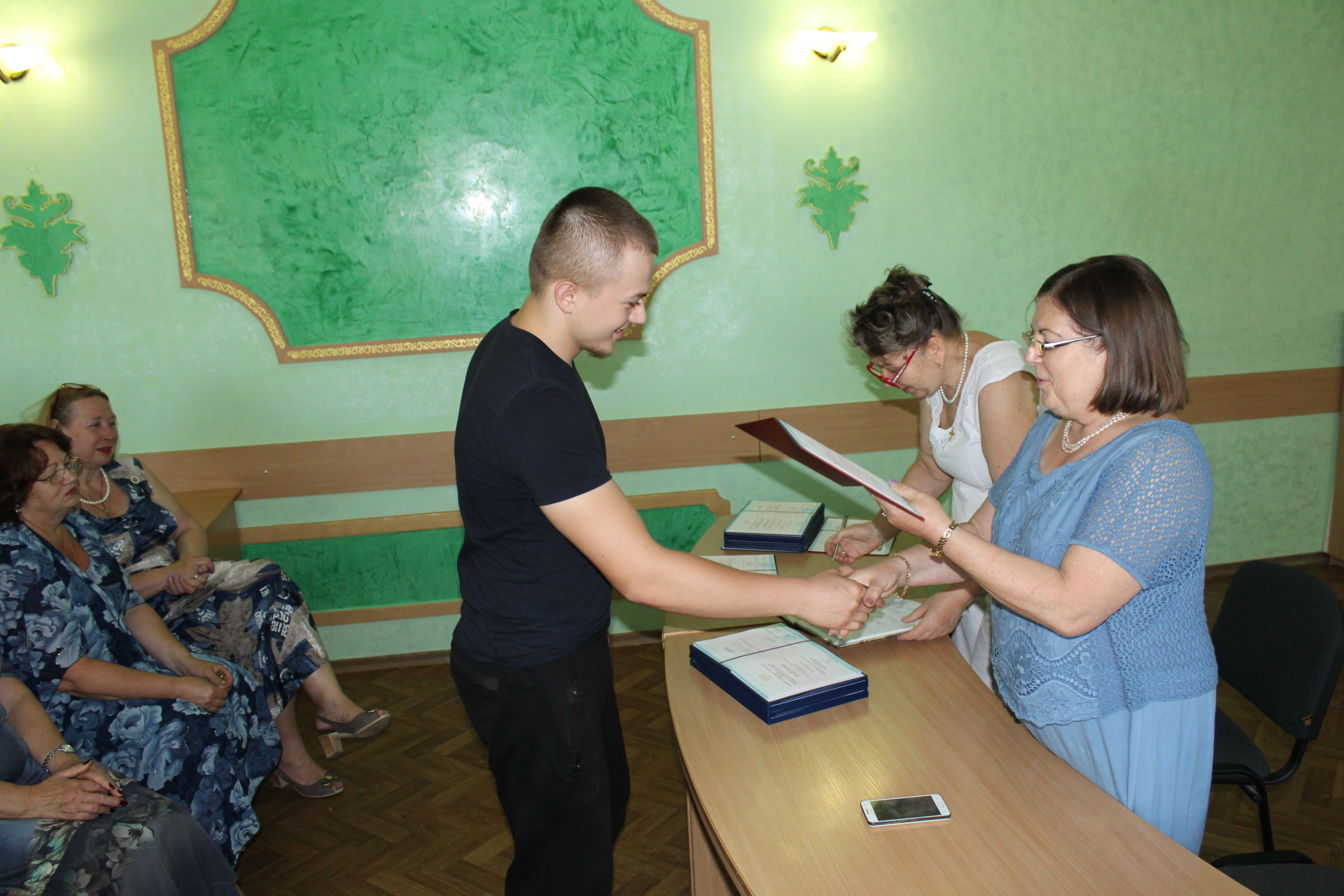 Защита и вручение дипломов 2018 027